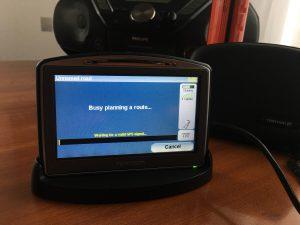ToTom Go720 GPS for car