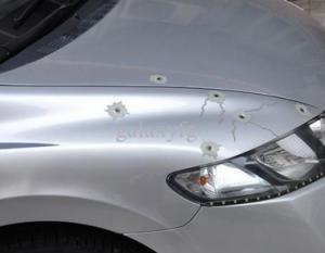 bullets in car