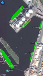 Marine traffic live map