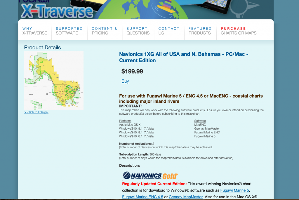 macenc marine navigation software