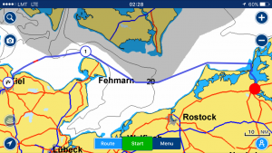 GPS navigation systems for boats