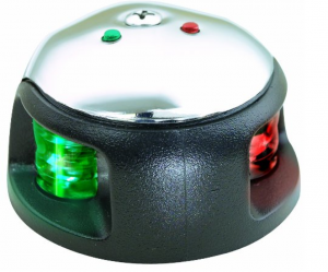 Attwood LED 2-Mile Deck Mount Navigation Bow Light