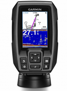 Garmin Striker 4 Bbuilt-in GPS Fish Finder for Ice Fishing